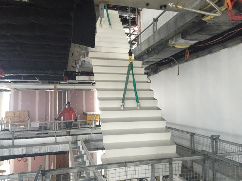 LL Stair Install